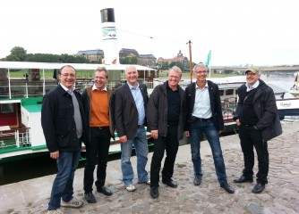 Vorstand und Geschäftsführung des VDM zu Besuch in Dresden