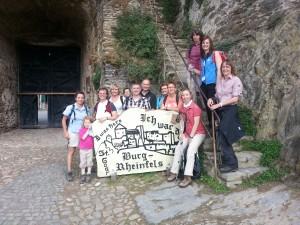 Besuch von Ruine Rheinfels