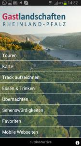 Touren-App Rheinland-Pfalz