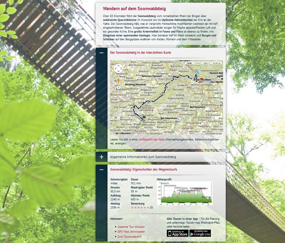 gastlandschaften.de: AlpRegio Soonwaldsteig