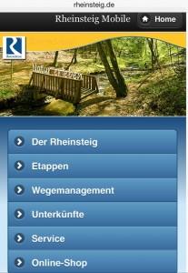 Rheinsteig mobil