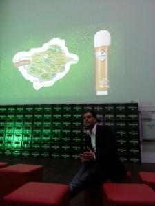"""Geschäftsführer Jens Geimer der Westerwald-Brauerei referierte über """"Regionalität"""""""