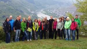 Teilnehmer des Bloggertreffens an der Mosel 2015
