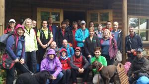 20 Wander- und Outdoorblogger erwandern 48 km WesterwaldSteig