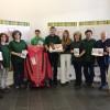 Die Verantwortlichen des Lahnwanderweges geben den Startschuss für die Jubiläumsaktionen zu 5 Jahre Lahnwanderweg