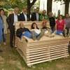Zoar-Werkstätten Rockenhausen entwickeln barrierefreie Outdoor- und Wanderwegemöblierung