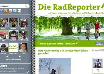 """RadHelden berichten im Blog """"Die RadReporter""""!"""