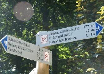 Einheitliches Gütesiegel für Wanderwege