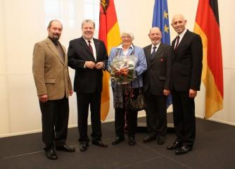 Ehrenpräsident Detlef Bojak erhält höchste Landesauszeichnung