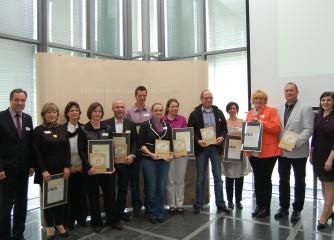 Sieben weitere Moselbetriebe sind zertifizierter Qualitätsbetrieb der Regionalmarke Mosel