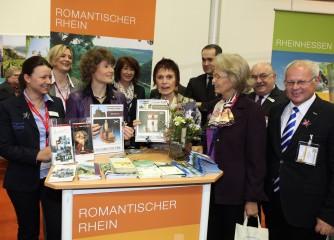Romantischer Rhein warb erfolgreich auf der ITB