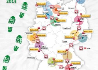 """DZT-Kampagne zum Themenjahr 2013 """"Junges Reiseland Deutschland"""""""