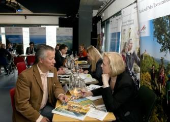 Rheinland-Pfalz Tourismus GmbH warb für die Gastlandschaften Rheinland-Pfalz auf dem ersten PR-Workshop der DZT Niederlande am 11. April 2013 in Amsterdam