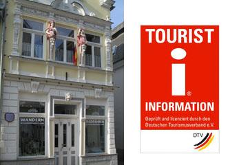 Tourist-Info Kastellaun mit I-Marken-Zertifizierung über Landesdurchschnitt