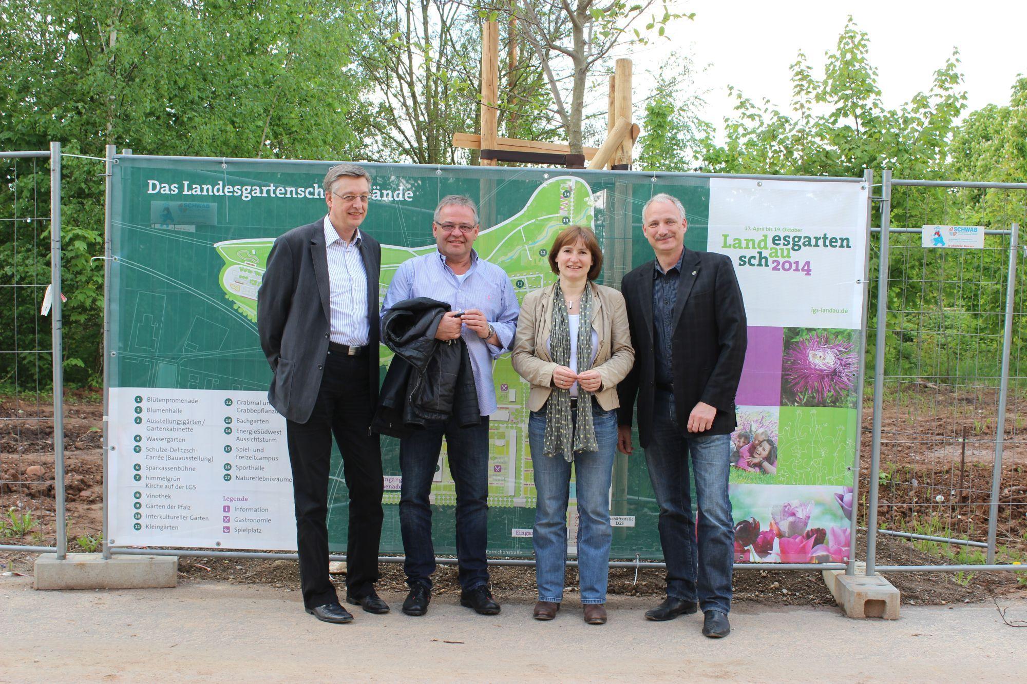 Landesgartenschau landau arbeitet eng mit touristikern der - Landesgartenschau landau ...