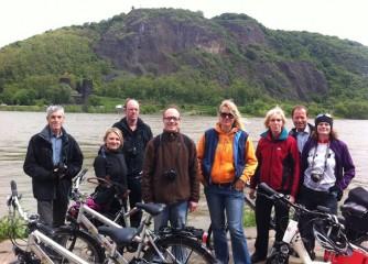 Touristische Fachpresse erkundet Rheinradweg von Rüdesheim bis Remagen-Rolandseck