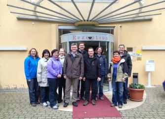 """Sitzung der AG """"Barrierefreie Reiseziele in Deutschland"""" in der Sächsischen Schweiz"""