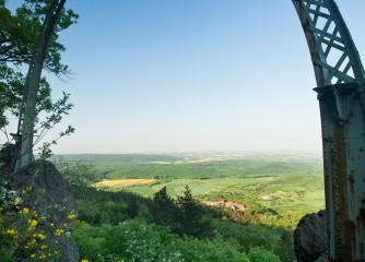 Gute Aussicht am Donnersberg in der Pfalz
