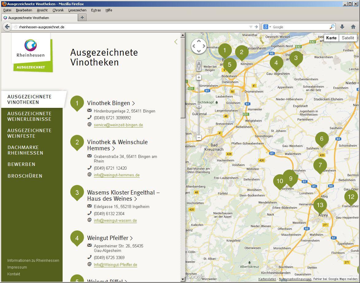 Neue Website online: Rheinhessen-AUSGEZEICHNET.de zeigt Highlights mit  Qualitätsversprechen « Tourismusnetzwerk Rheinland-Pfalz