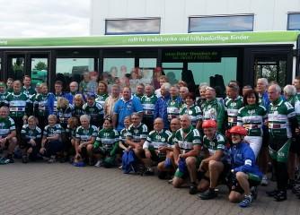 18. VOR-TOUR der Hoffnung führte durch die Regionen Hunsrück-Mosel-Rhein-Taunus-Lahn