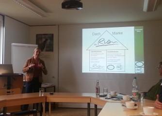 Vortrag zur Dachmarke Rhön