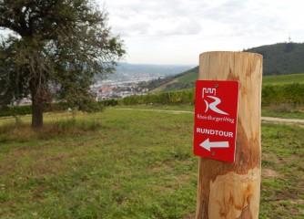 Rhein-Nahe-Schleife ergänzt das Angebot am RheinBurgenWeg