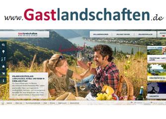 Gastlandschaften Rheinland-Pfalz mit neuem Internetauftritt