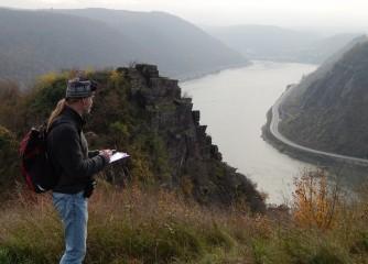 Deutsches Wanderinstitut überprüft neue Rundtouren am Romantischen Rhein