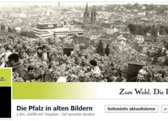 """Neue Facebookseite """"Die Pfalz in alten Bildern"""""""