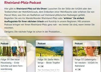 Podcasts aus Rheinland-Pfalz sind 2013 besonders beliebt