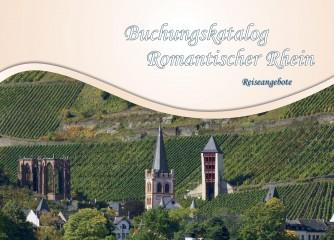 Neuer Buchungskatalog am Romantischen Rhein
