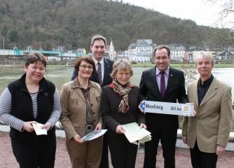 Starkes Netzwerk für ein nachhaltiges Wegemanagemet auf dem Moselsteig