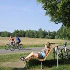 Radeln auf dem Glan-Blies-Radweg in der Pfalz