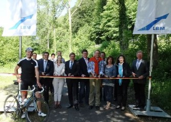 Bau des Wied-Radwegs abgeschlossen – Feierliche Verkehrsfreigabe