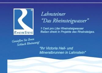 """""""Lahnsteiner"""" setzt mit Rheinsteigwasser auf Wanderer"""