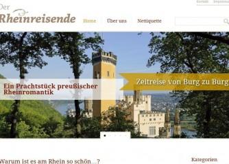 www.Der-Rheinreisende.de – Burgennetzwerk im Internet