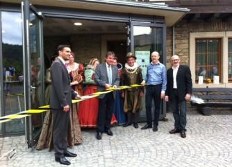 Touristischer Infopunkt auf Schönburg in Oberwesel eingeweiht