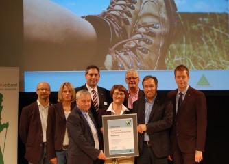 "Moselsteig erhält Zertifikat ""Qualitätsweg Wanderbares Deutschland"""