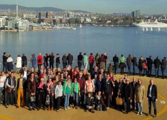 Die Jahreshauptversammlung 2014 der VDRJ (Vereinigung Deutscher Reisejournalisten) fand auf Hoher See zwischen Kiel und Oslo statt