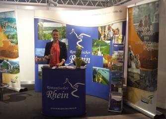 Romantischer Rhein wirbt 2015 auf zahlreichen Reisemessen