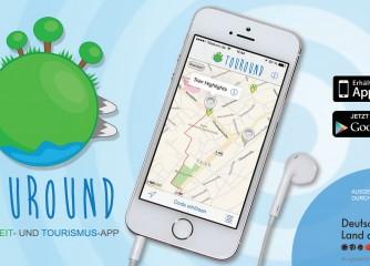 """Freizeit- und Tourismus App """"Touround"""" im bundesweiten Wettbewerb ausgezeichnet"""