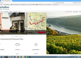 Neue Version des Tourenplaners Rheinland-Pfalz steht Partnern kostenlos zur Verfügung