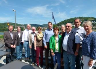 Stefan Zindler zu Besuch am Romantischen Rhein