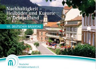 Einladung zum 111. Deutschen Bädertag in Bad Wildbad