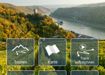 Notruf, Wetter, Gipfelfinder, Tourenplaner – neue Anwendungen der Touren-App Rheinland-Pfalz