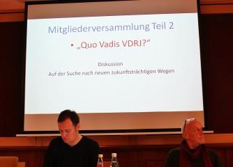 Jahreshauptversammlung der Vereinigung der Deutschen Reisejournalisten (VDRJ) vom 9. bis 11. Oktober in Frankenberg/Hessen