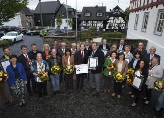 Hachenburg erneut als QualitätsStadt ausgezeichnet