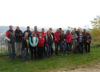 """Vertreter der """"Leading Quality Trails – Best of Europe besuchen Moselsteig"""