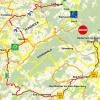 Vollsperrung des Rhein-Radweges bei Niederheimbach
