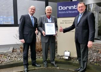 Bett+Bike Betrieb des Monats März: Dorint Parkhotel Bad Neuenahr